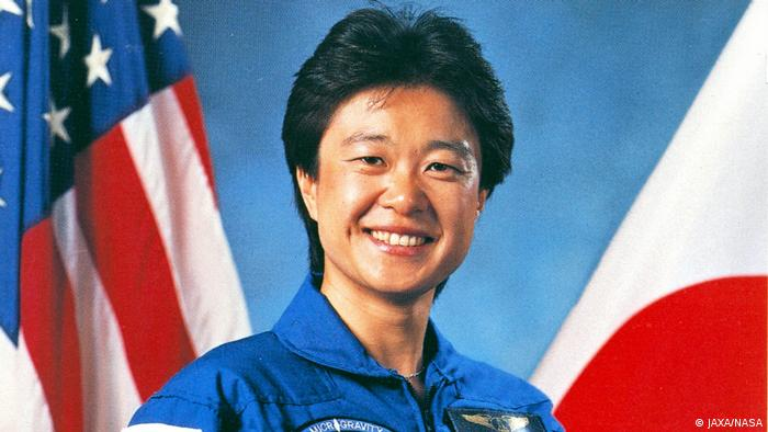 Japanese astronaut Chiaki Mukai
