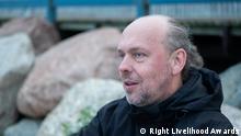 17/09/2021 Right Livelihood Awards. Wladimir Sliwyak, russischer Umweltaktivist