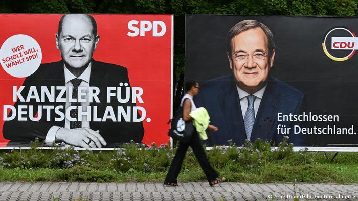 Deutschland I Wahlplakate in Frankfurt am Main