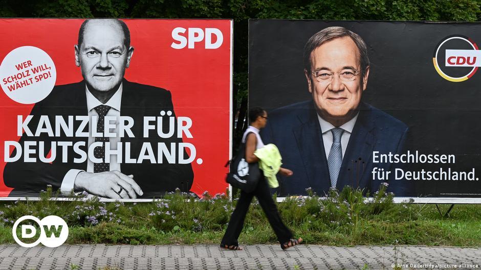 German election: Olaf Scholz, Armin Laschet vie for Angela Merkel's office