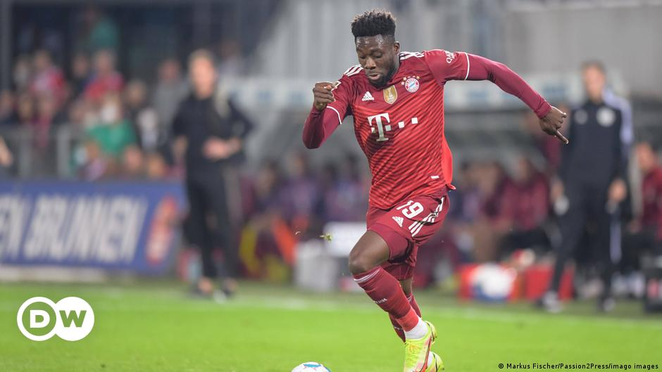 Bundesliga: Alphonso Davies revels in new role as Bayern dust off Greuther Fürth