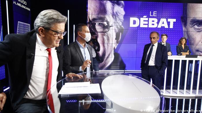 Γαλλία | Ντιμπέιτ ανάμεσα στον Μελανσόν και τον Ζεμούρ