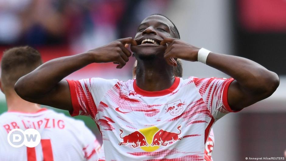 RB Leipzig schießt sich gegen Hertha frei