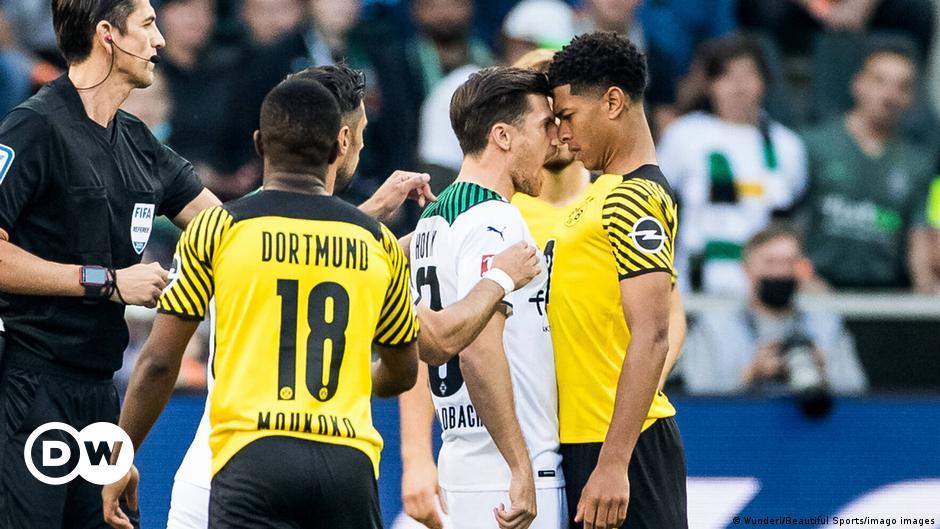 Mönchengladbach führt zur Halbzeit gegen BVB