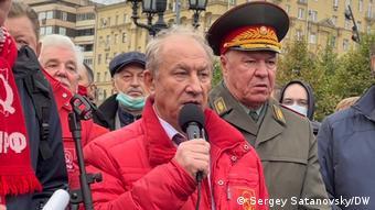 Глава московского горкома КПРФ Валерий Рашкин