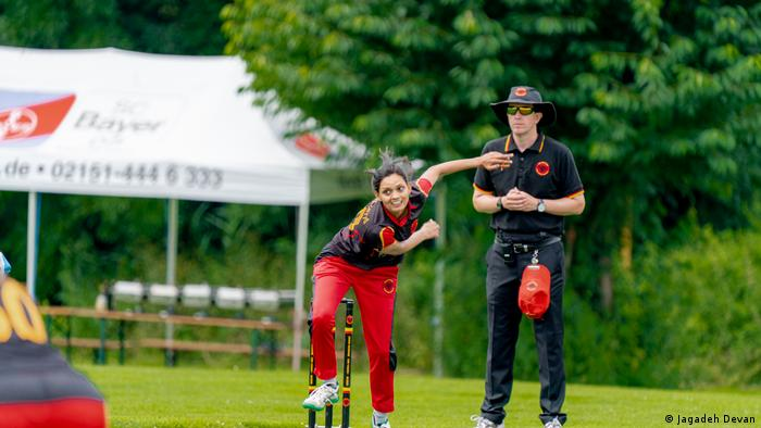 Anuradha Doddaballapur playing for Germany
