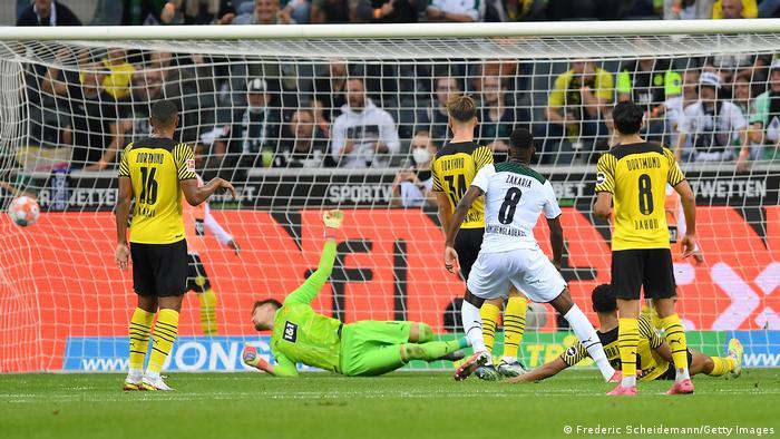 Fußball Bundesliga 2021 I Borussia Mönchengladbach - Borussia Dortmund (1:0)