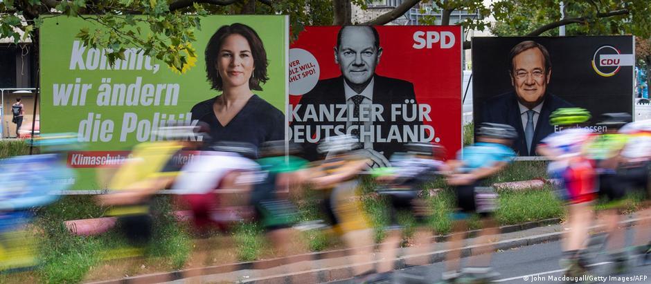 BTW 2021 | Deutschland vor der Wahl | Plakate der Kandidaten