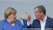 CDU Merkel dönemi sonrasına hazırlanıyor. Sene başında CDU Genel Başkanı olan Laschet ile partisi seçimlerde hezimete uğradı.