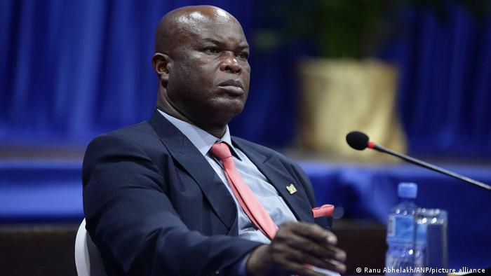 Surinamese Vice President Ronnie Brunswijk