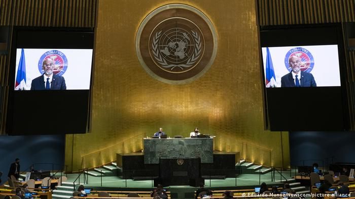 USA UN Generalversammlung Ariel Henry