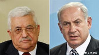 Mahmud Abbas (l.) und Benjamin Netanjahu (Foto: AP/DW-Montage)