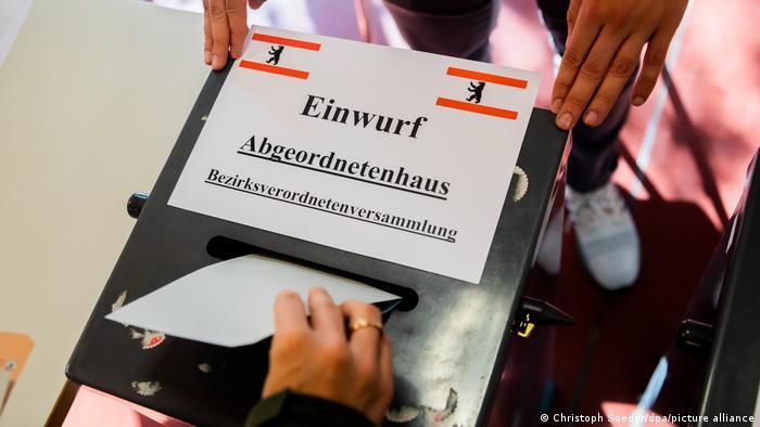 Deutschland Berlin Wahl zum Abgeordnetenhaus 2021