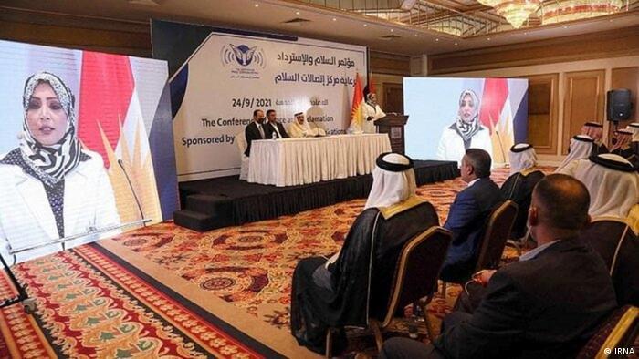 کنفرانس بررسی عادیسازی رابطه با اسرائیل در مرکز اقلیم کردستان عراق، ۲۴ سپتامبر ۲۰۲۱