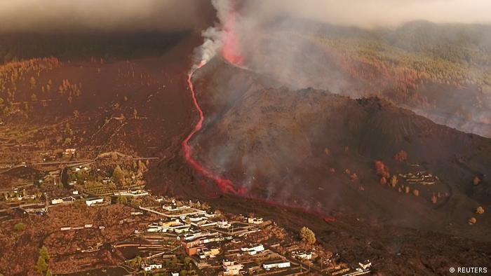 Spanien | Vulkanausbruch | Kanareninsel La Palma