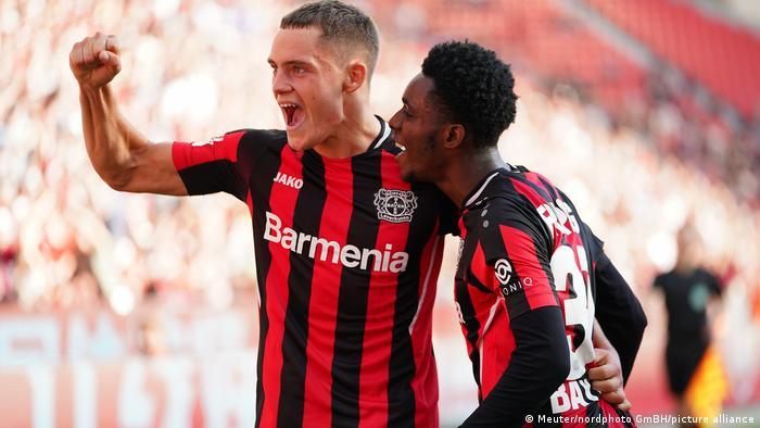 Fußball Bundesliga 2021 I Bayer 04 Leverkusen - Mainz 05