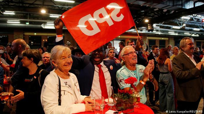 Deutschland Wahlen I SPD I Reaktionen Prognose