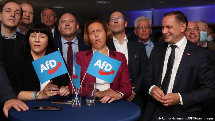Bundestagswahl 2021 | Wahlparty der AfD