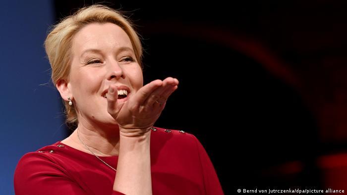 فرانسیسکا گیفای، پیروز انتخابات برلین از حزب سوسیال دموکرات