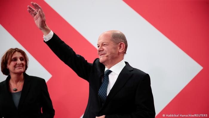 Deutschland Wahlen I SPD I Olaf Scholz