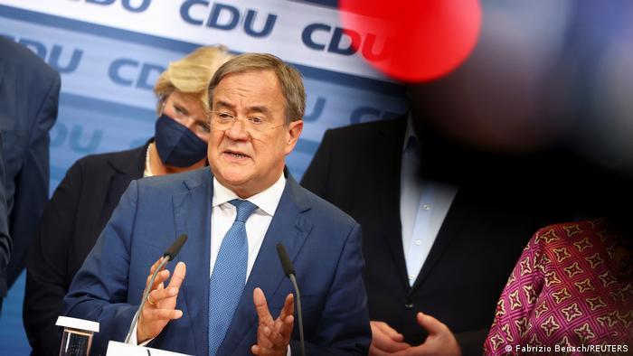 Bundestagswahl 2021 | Wahlparty der CDU