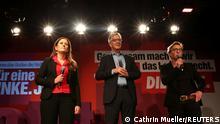 La cúpula del partido alemán La Izquierda