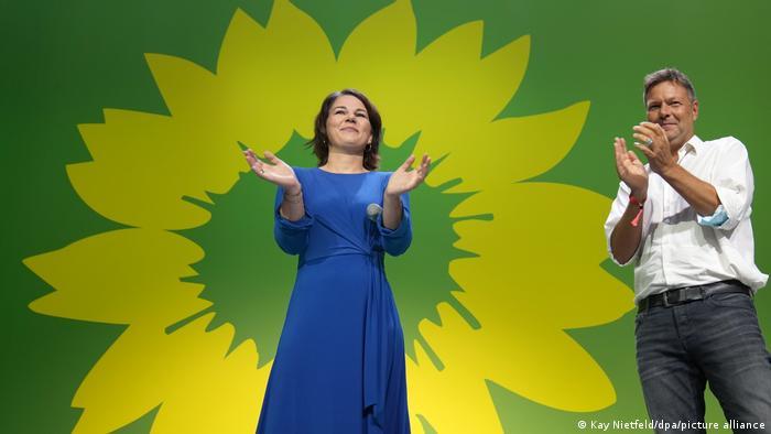 Bundestagswahl 2021 | Wahlparty der Grünen