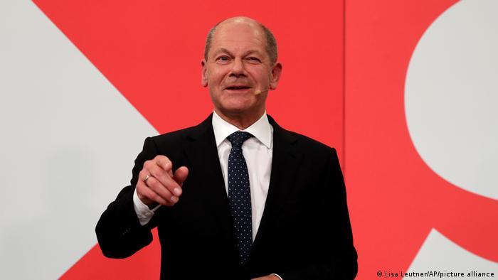 Bundestagswahl 2021 | Wahlparty der SPD