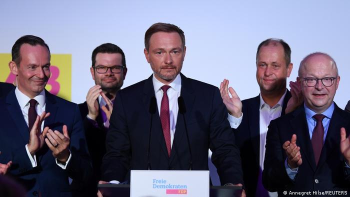 رئيس الحزب الديمقراطي الحر (الليبرالي) كريستيان ليندنر