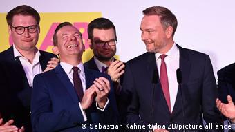 Bundestagswahl 2021 | Wahlparty der FDP