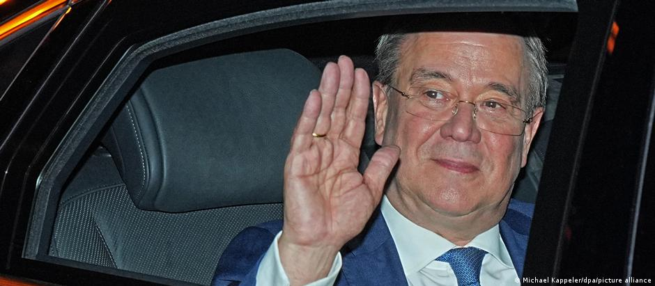 Kiseli osmeh: Lašet odlazi iz centrale CDU nakon izbora