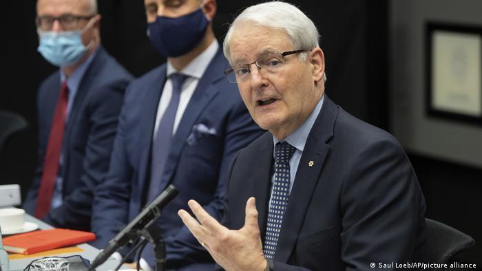 Island I kanadische Außenminister Marc Garneau