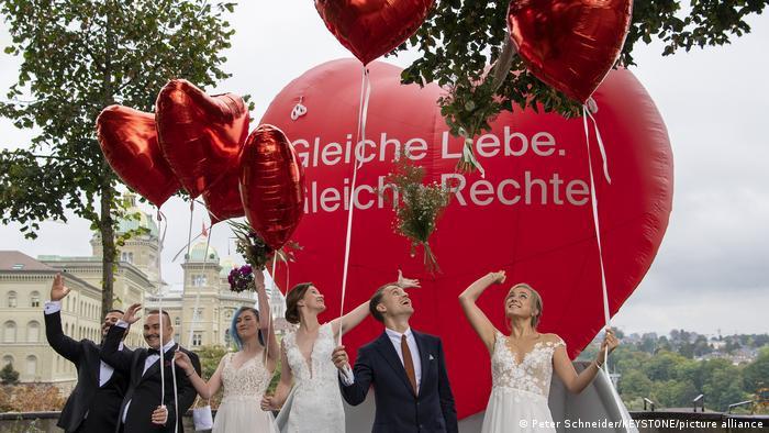 Schweiz Volksabstimmung für die Ehe für alle