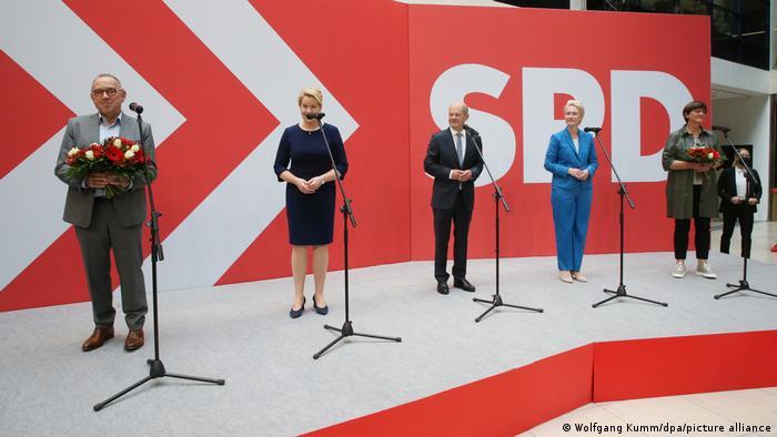 Deutschland   Nach der Bundestagswahl - SPD