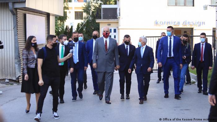 Kosovo, Besuch von Edi Rama, Ministerpräsident von Albanien & Albin Kurti