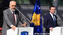 Kosovo, Besuch von Edi Rama, Ministerpräsident von Albanien Author: Office of the Kosovo Prime minister (official publications for media) Date: 27.09.2021