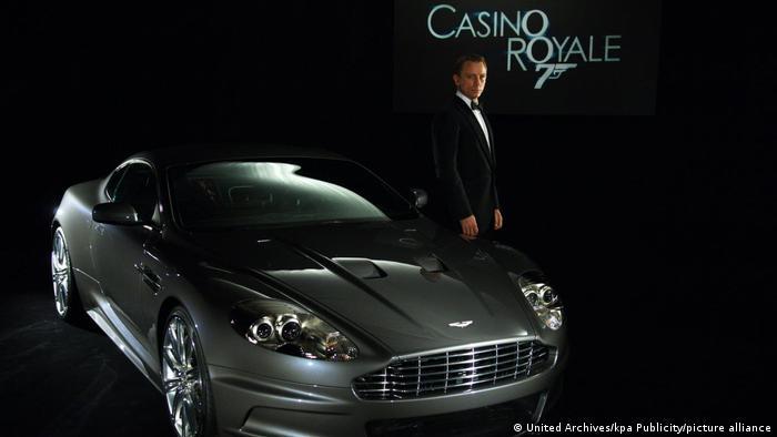 Казино Рояль (2006): Aston Martin DBS