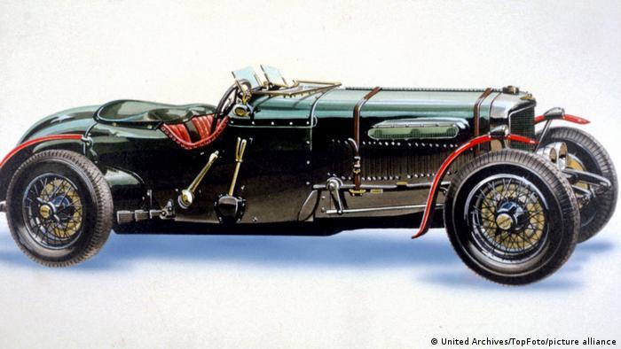 Лунный гонщик (1979): Bentley 1930
