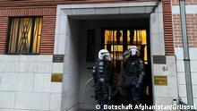 Angriff auf Afghanische Botschaft in Brüssel