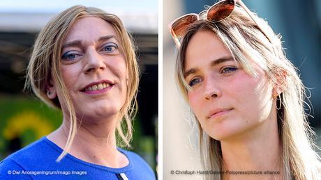 Bildkombo I Tessa Ganserer und Nyke Slawik