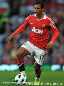 Soccer - Barclays Premier League - Manchester United v Newcastle United - Old Trafford.Luis Nani, Manchester United URN:9324567