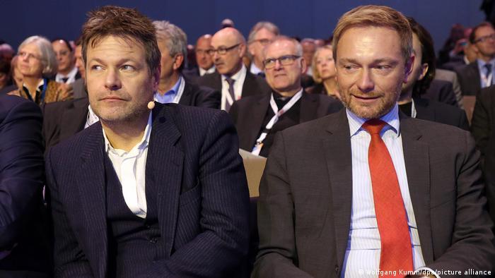 Robert Habeck dhe Christian Lindner