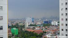 Indonesien Jakarta 2021 Indonesien Jakarta   Stadtansicht mit Smog