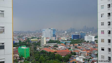 Jakarta, padat penduduk, polusi tinggi dan kerap macet