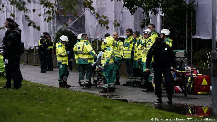 Emergency services in Gothenburg, Sweden