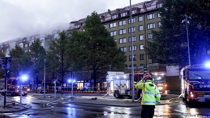 Sweden | Explosion in Gothenburg