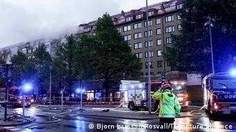 Schweden   Explosion in Wohnhaus in Göteborg