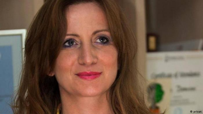 Albanian investigative journalist Lindita Cela