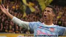 Goal Cristiano Ronaldo of Manchester United during the UEFA Champions League, Group Stage, Group F football match between Young Boys Berne and Manchester United on September 14, 2021 at Stade de Suisse in Berne, Switzerland. Photo by Laurent Lairys/ABACAPRESS.COM