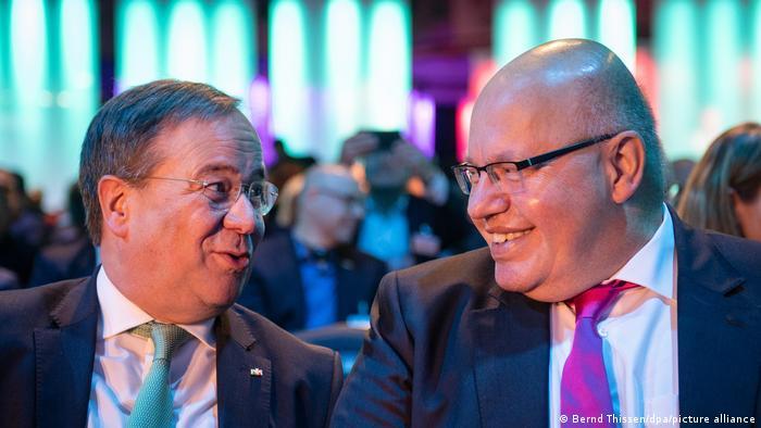 Digital-Gipfel 2019 der Bundesregierung - Armin Laschet und Peter Altmaier